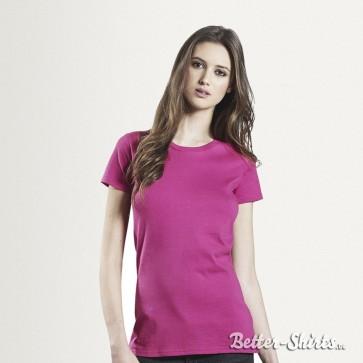Earth Positive Womens Organic Slim-Fit Bio T-Shirt