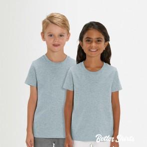 Stanley Stella Mini Creator Heather T-Shirt für Kinder - 100% Bio-Baumwolle!